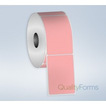 Thermal Transfer  label, 4''x6'', Pink