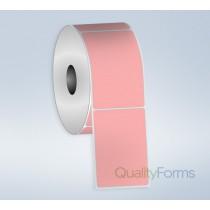 Thermal Transfer  label, 3''x1'', Pink