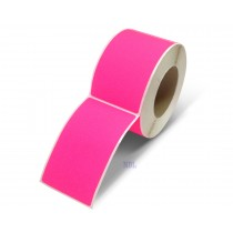 Rectangle Inventory Color Coding Labels - Pink - 3 x 5