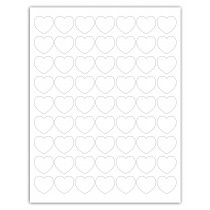 "8-1/2"" x 11"" 63 Labels per Sheet 1"""