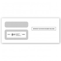 2019 1099  Double-Window Envelope