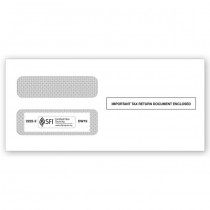 2020 1099  Double-Window Envelope, Self-Seal