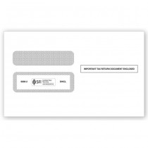 2018 W-2 Double-Window Envelope, Self-Seal