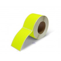 Rectangle Inventory Color Coding Labels - Yellow - 3 x 5
