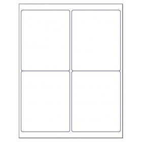 """8-1/2"""" x 11"""", 4 Labels, per Sheet,4"""" x 5"""""""