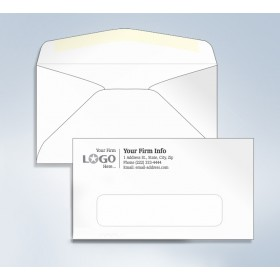 """Standard Envelope,Window, 6 3/4, 6-1/2"""" x 3-5/8"""