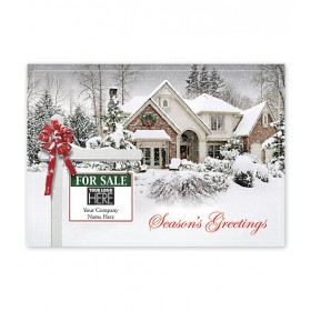 New Joy Real Estate Holiday Logo Cards