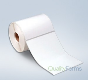 Thermal Transfer  label, 4''x6.5'', Canary