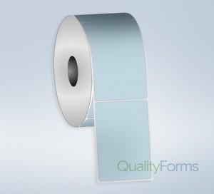 Thermal Transfer  label, 3''x1'', Blue