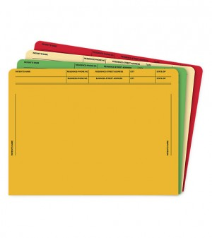 Heavy Duty Colored File Envelopes Printed
