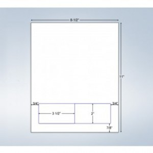 Integrated Label Form 2 Labels 3.5 x 2