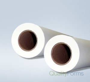 "22'' x 500' Plotter Paper Rolls, (3"" core) 2 rolls/case"