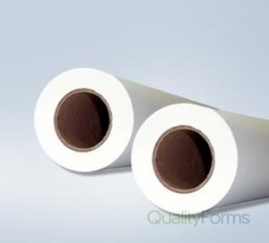 "24'' x 300' 20# Plotter Paper Rolls, (2"" core) 2 rolls/case"