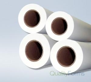 "22'' x 150' 20# Plotter Paper Rolls, (2"" core) 4 rolls/case"