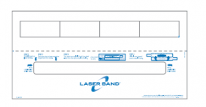 5-1/2 x 11 Adult Band with 4 Labels