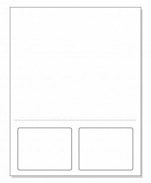 Integrated Label Form 2 Labels 3.5 x 2-3/4