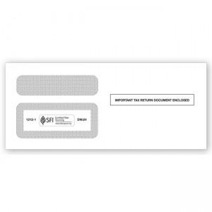 2020 1099  Double-Window Envelope