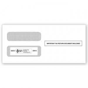 2020 1099  Double-Window Envelope, Self-Seal