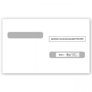 2020 Laser W-2 Double-Window Envelope