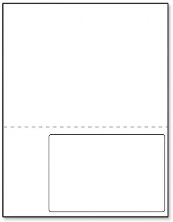 Integrated Label Form 1 Label 6 x 4